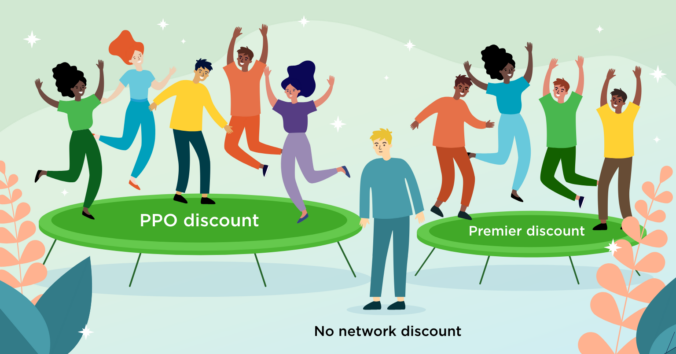 Celebrating PPO and Premier discounts